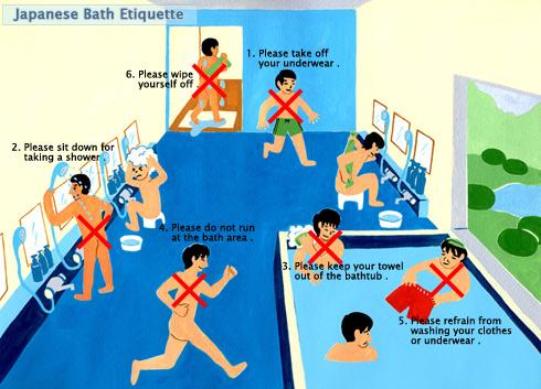 How to take japanese bath